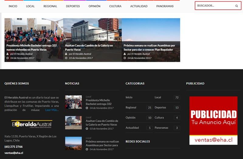 Diseño Web Puerto Montt