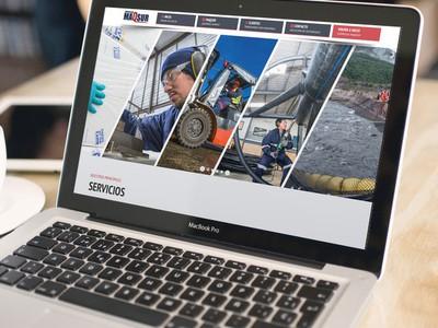 MAQSUR - Diseño Web Puerto Montt